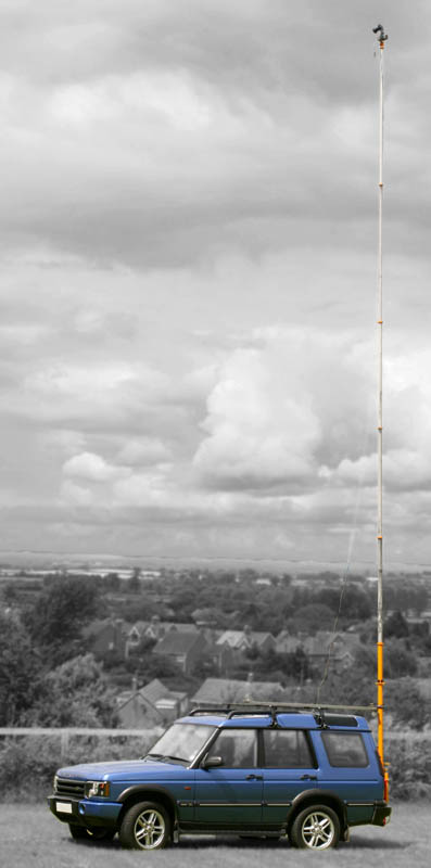 Mast Photography - Disco and elevated mast